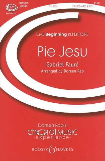 Pie Jesu from 'Requiem op.48' image